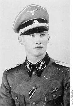 Günther Degen (30 August 1917 — 13 March 1945) was a Hauptsturmführer (Captain) in the Waffen-SS during World War II and was awarded the Knight's Cross of the Iron Cross, which was awarded to recognize extreme battlefield bravery or successful military leadership by Nazi Germany during World War II. Hauptsturmführer Günther Degen was in command of the I.Battalion, 11th SS Gebirgsjager (Mountain) Regiment Reinhard Heydrich, 6th SS Gebirgs Division Nord when he was awarded the Knight's Cross on the 7 October 1944, when serving in Finland.  Degen did not survive the war but was killed in action on 13 March 1945 near Pfaffenheck where he lies buried in a military cemetery.