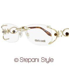 58579b749bad Roberto Cavalli Eyeglasses RC695 Arutua 028 Size 54 Rose Gold Havana 695