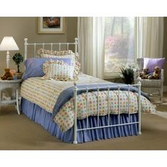 Wonderful Walmart: Hillsdale Molly Twin Bed With Bed Frame, White