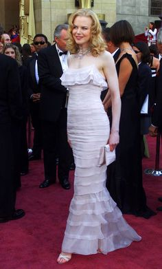 Nicole Kidman, Chanel, 2002 The Red Carpet Project - NYTimes.com