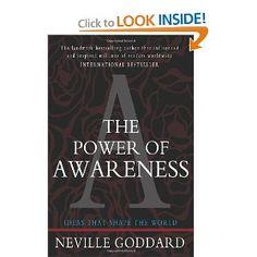 The Power of Awareness: Neville Goddard: 9781453698785: Amazon.com: Books