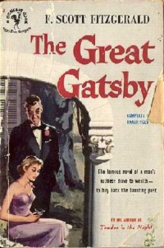 32 best gatsby compare contrast images on pinterest book covers bantam the great gatsby f fandeluxe Image collections