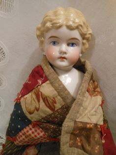 Old Dolls, Antique Dolls, Vintage Porcelain Dolls, Little Dolly, Almond Shaped Eyes, Red Leather Boots, Baby Fat, Black And Blonde, China Dolls