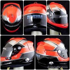 Some pics of racing/karting helmets Arai helmets to two brothers Simon and Kevin same design with switched colortheme black red and silvermetallic thanks for choosing me as your helmetdesigner/painter #sundahls #terex #araihelmet #araihelmets #instahelmet #clearcoat #glasurit #basfrefinish #karting #racing #helmetart #helmetpaint #helmetdesign #racinglivery #iwata #anest_iwata