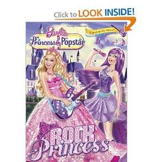 Rock Princess Barbie Deluxe Coloring Book Mary Man Kong