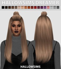 Sims 4 CC's - The Best: HallowSims Dreamer