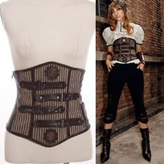 Victorian Gothic Goth Punk Underbust Corsets Corset Tops Top Bustiers Page One - Liquiwork