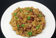 Quinoa and Kidney Beans Pilaf is delicious and flavorful pilaf recipe. This is very good option for vegetarians/vegans and for those who are diet conscious.
