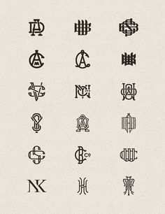 Monograms by Joe White