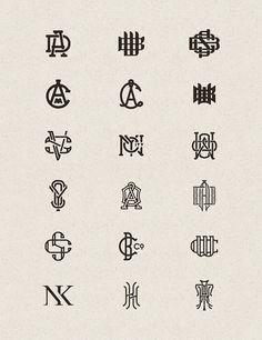 Monograms by Joe White
