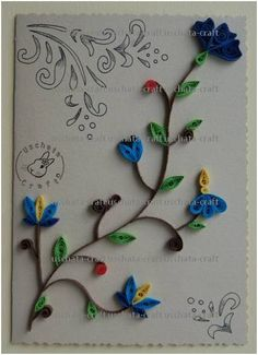 Quilling - Card 8 by Eti-chan.deviantart.com