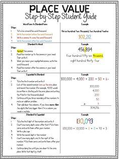 Simplify Place Value to Help Struggling Learners - The Third Wheel Teacher Math Teacher, Math Classroom, Teaching Math, Teaching Ideas, Classroom Ideas, Teaching Place Values, Math Rotations, Numeracy, Math Centers