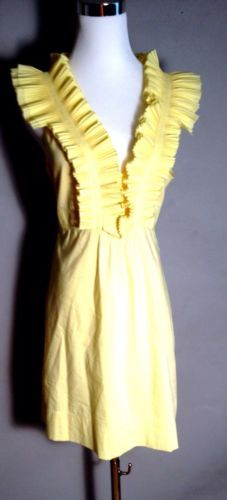 Check out this #yellow #bcbg dress on #sale!