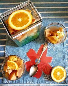 Narancsos, fahéjas, mézes birsalmakompót