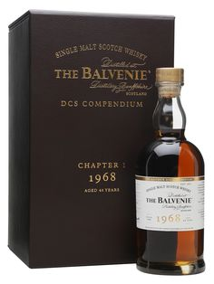 Balvenie 1968 - 46 Year Old - DCS Compendium Chapter 1 Scotch Whisky : The Whisky Exchange Whiskey Or Whisky, Whisky Jack, Whiskey Brands, Single Malt Whisky, Scotch Whiskey, Bourbon, Vodka Tequila, Spirit Drink, Beer Bar