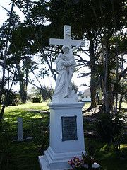 Mother MaryAnns grave. The Island of Molokai, Hawaii. Leper Colony.