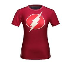 High Quality Women T-shirt Bodys Top Armour DC Marvel Captain America/Spiderman Compression Slim Girl Under Fitness Tights Wonder Woman Shirt, Compression T Shirt, Marvel Women, Marvel Avengers, Sport T Shirt, Workout Tops, Shirts For Girls, Sport Outfits, Fit Women