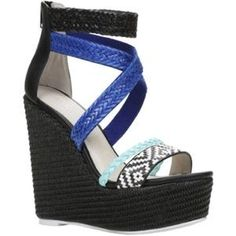 ALDO WYNONAH wedge sandals size 8