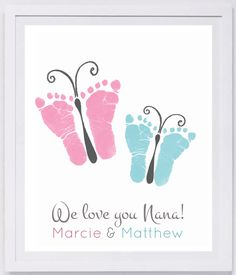 Items similar to bird footprint wall Mother& Day, Father& Day. on Etsy - Bird Footprint Wall Mother& Day by MyForeverPrints - Kids Crafts, Mothers Day Crafts For Kids, Fathers Day Crafts, Baby Crafts, Toddler Crafts, Diy For Kids, Tree Crafts, Newborn Crafts, First Mothers Day Gifts