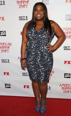 gorgeous, love this dress-- Fashion, Amber Riley, Glee