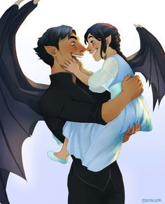 Rhysand and his daughter