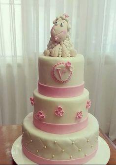 Torta Baby Shower Oveja
