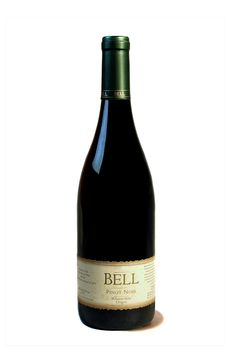 grapestobottles.com posting: Bell Wine: Bright cranberry color with aromas of spice and ripe red raspberries. On the palate, flavors of mineral and cherries give way to hints of toasty oak.