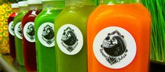 Swami Juice Mon-Fri 8am-7pm, Sat 9-5? Closed sun. Happy Hour 2-4 $8 juice, otherwise $10. Specials on expiring juice for $8