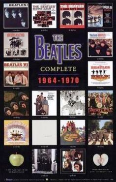 The Beatles US album covers