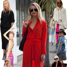 Claire Courtin #stealherstyle #looks #streetstyle #streetchic #moda #fashion #style #estilo #inspiration #red #dress #clarins #jeans #jaqueta #vestido #chapeu