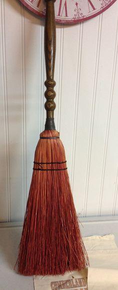 Vintage Hearth Broom/Chimney Broom/ by redposie on Etsy, $18.00