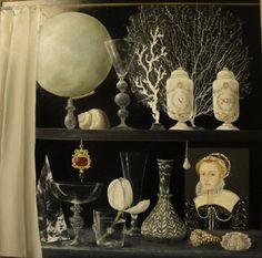 Nouveau cabinet de curiosités Renaissance. Oil. Bridget Is Painting blog. 18 Avril 2012