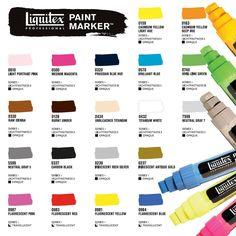 Liquitex Professional Paint Markers vesiliukoiset akryyliväritussit ovat upea lisä valmistajan tuoteperheeseen. Ne on suunniteltu yhteensopiviksi muiden Liquitex akryylivärien ja spraymaalien kanssa, mutta ne ovat kuitenkin luonteeltaan täysin omanlaisiaan - tusseilla saat töihisi taas yhden ulottuvuuden lisää. #paintmarkers #liquitex #spraypaint #akryyli #acrylic #paint #painting