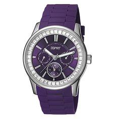 Esprit Ladies Watch Starlite Purple Silicone ES105442007