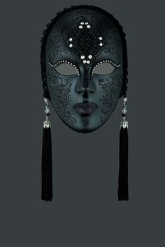 Penelope venetian mask, ball mask, masquerade mask, carnival venetian mask in papier mache
