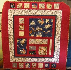 Nice style for a baseball quilt