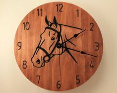 Oak version: https://www.etsy.com/listing/288658565/oak-bass-fish-clock-wood-clock-wall  Upgrade your order with silent mechanism, message card and more: https://www.etsy.com/shop/BunBunWoodworking?section_id=20657265   ITEM DETAILS:  * stained in Mahogany and Honey Maple colors * made out of select pine * 10.5 inch diameter (26,5 cm) * has quartz clock mechanism (does not have a loud tick) * clock hanger is attached to the back for easy hangi...
