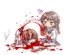 Adorably gruesome~