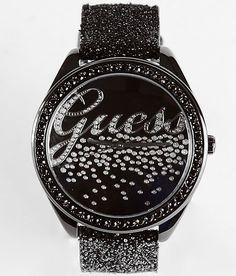 Guess glitter watch.