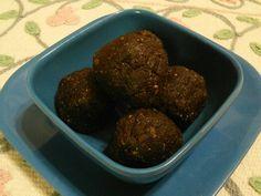 "Raw ""Chocolate"" Cookie Dough Balls -- an indulgent little treat!"