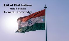 List of First Indians (male