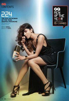 Deepika Padukone for GQ