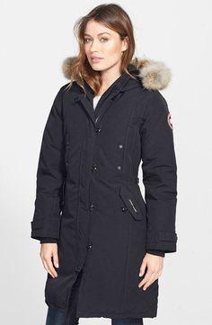 Canada Goose parka sale store - CANADA GOOSE KENSINGTON PARKA BLANC FEMME   Kensington Parka ...
