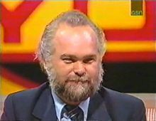 Paul Michael Larson (May 10, 1949 – February 16, 1999) was a contestant on the American television game show Press Your Luck in May 1984 that aired on TV in June 1984. Larson won $110,237 in cash and prizes, at the time the largest one-day total ever won on a game show. Larson was able to win by memorizing the patterns used on the Press Your Luck game board.