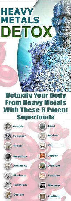 Whether the heavy metals are coming from foods, vaccines, cosmetics, dental fillings, or water, they accumulate within the body over time if they're not properly detoxed.