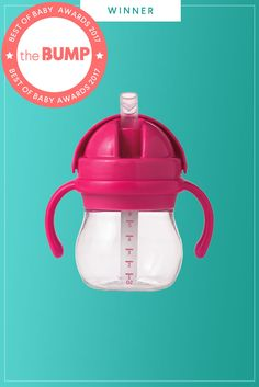 A good sippy cup teaches baby to sip rather than suck. Oh, and it doesn't leak—but that part's for your sanity.