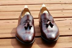 Brand new John Lobb Madison 10th Anniversary Limited Edition- Dark Brown Museum Calf