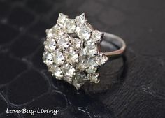 antique costume ring jewelry