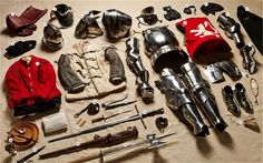 From the crude weaponry and armour of the Battle of Hastings, to the high-tech kit of modern conflict, a new photographic survey explores the personal equipment carried by the common British soldier through the past 1,000 years