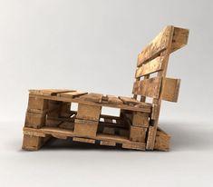 Palettensofa bauen – Die schönstes DIY Beispiele, - Доброе Утро Pallet Furniture Outdoor Couch, Pallet Couch, Pallet Patio, Recycled Pallets, Wooden Pallets, Wooden Diy, Palette Furniture, Diy Furniture, Furniture Online